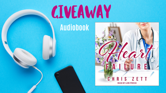 Audiobook giveaway Heart Failure medical romance